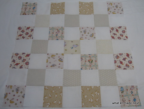 Baby quilt 2