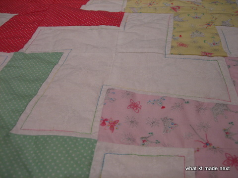 Roses for Rosa - quilting